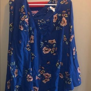 Dresses & Skirts - Blue flower dress